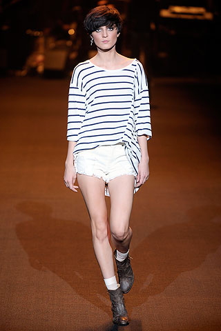 Erin Wasson x RVCA Spring 2010 Ready-to-Wear